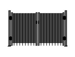 Cl ture intimit en aluminium cl inc site officiel for Porte cloture aluminium