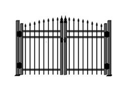 Ornemental aluminum fence cl inc official site for Porte cloture aluminium