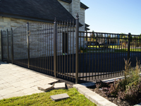 Ornemental aluminum fence
